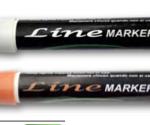 line marker bianco